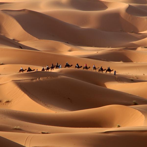Nomades et oasiens de l'erg Chebbi : voyage solidaire Vision du Monde