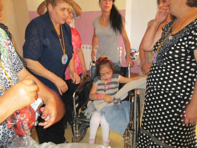 Soutien aux activités manuelles du centre pour enfants handicapés de Astghavard à Vardenis - photo 4 - Vision du Monde