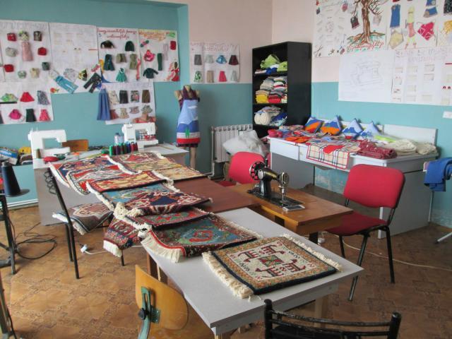 Soutien aux activités manuelles du centre pour enfants handicapés de Astghavard à Vardenis - photo 3 - Vision du Monde