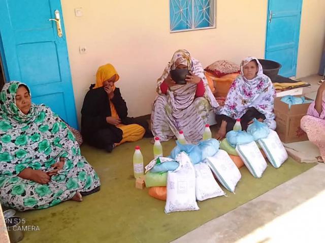 Aide alimentaire pour les familles des centres de malnutrition des Enfants du Désert à Atar  - covid-19 - photo 2 - Vision du Monde