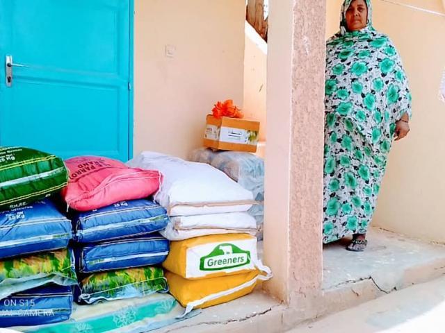Aide alimentaire pour les familles des centres de malnutrition des Enfants du Désert à Atar  - covid-19 - photo 3 - Vision du Monde