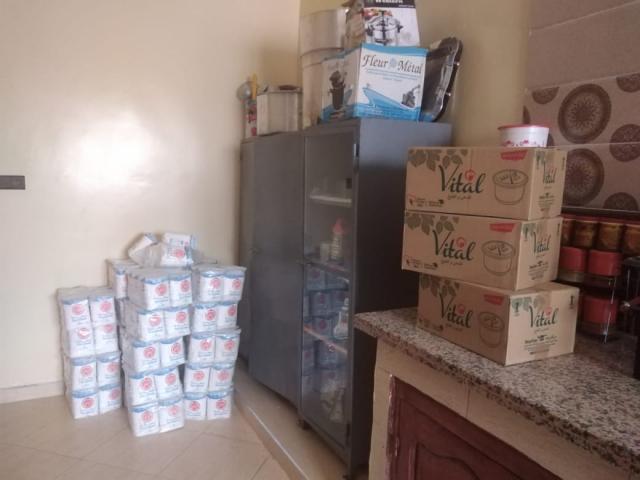 Aide alimentaire pour les familles du village d'Hassilabiad-covid-19 - photo 3 - Vision du Monde