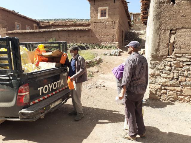 Aide alimentaire pour les familles du village d'Ibakaliwane-covid-19 - photo 2 - Vision du Monde