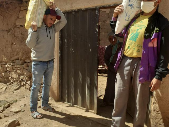 Aide alimentaire pour les familles du village d'Ibakaliwane-covid-19 - photo 4 - Vision du Monde