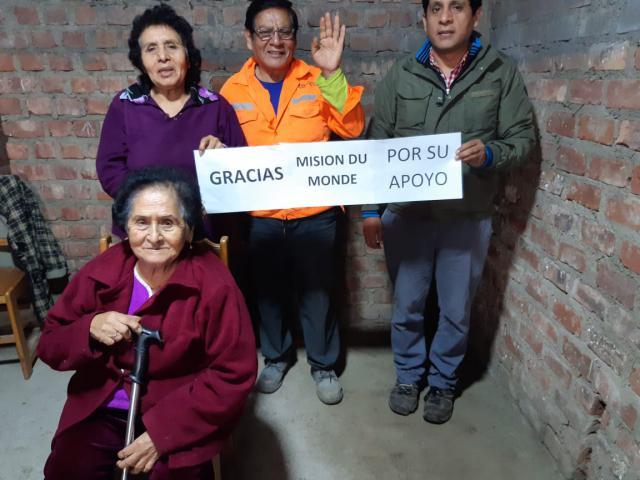 Aide alimentaire pour les familles du bidonville de Colliqué à Lima - covid-19 - photo 3 - Vision du Monde