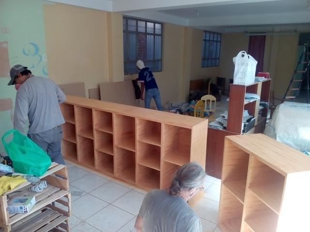 Aménagement de la Bibliothèque du Petit Prince, dans le quartier jeune de Cayma à Arequipa - photo 2 - Vision du Monde