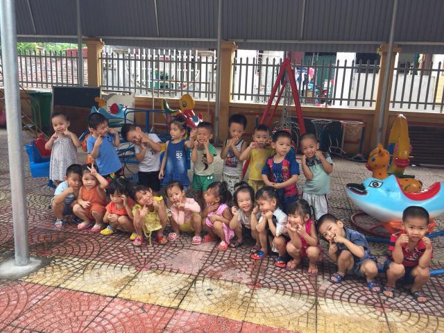 Achat de jeux pour l'école maternelle de Le Loi, dans la province de Hai Duong - photo 1 - Vision du Monde