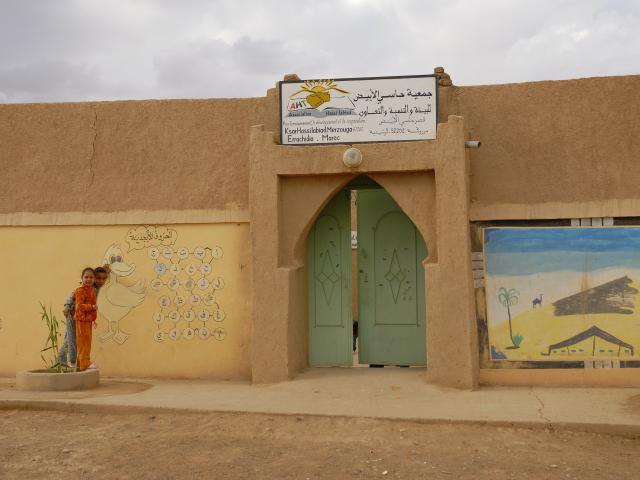 Branchement des deux locaux de l'association Hassilabiad au réseau d'assainissement - photo 1 - Vision du Monde