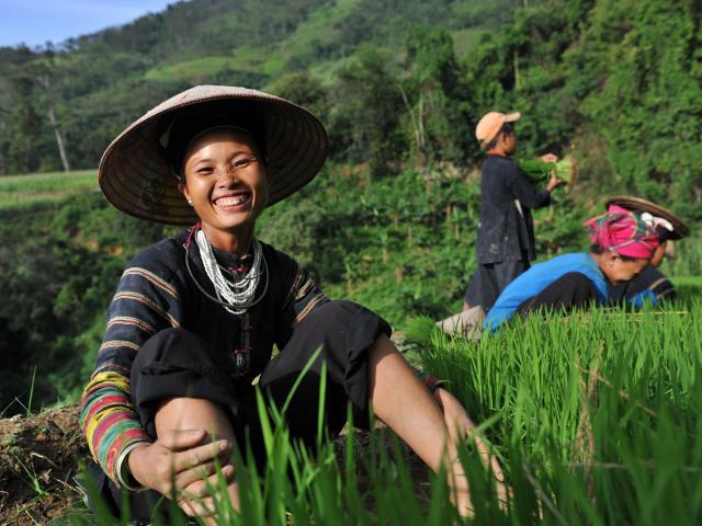 Randonnée à la rencontre des peuples du Tonkin : voyage solidaire Vision du Monde