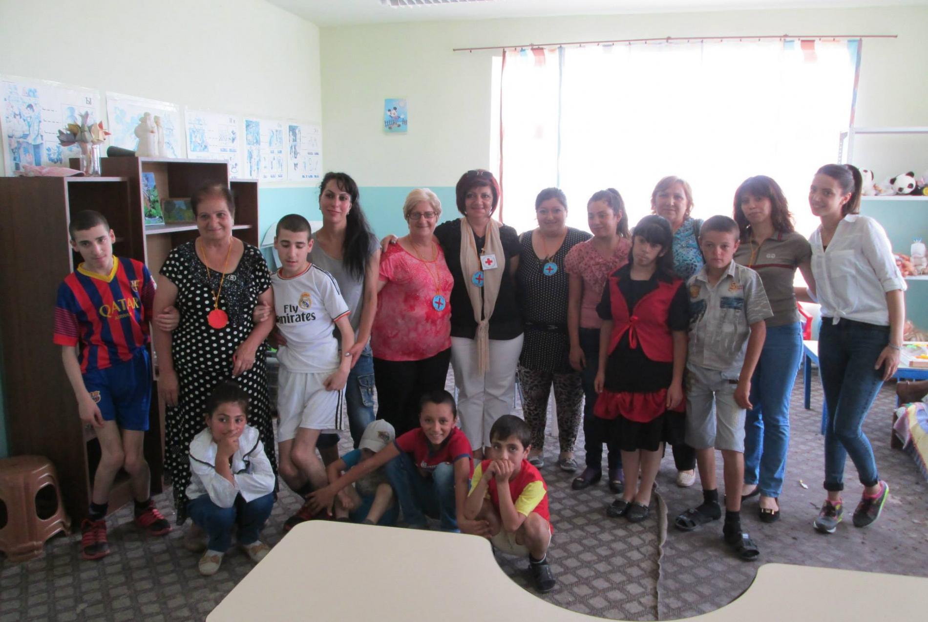 Soutien aux activités manuelles du centre pour enfants handicapés de Astghavard à Vardenis - Vision du Monde