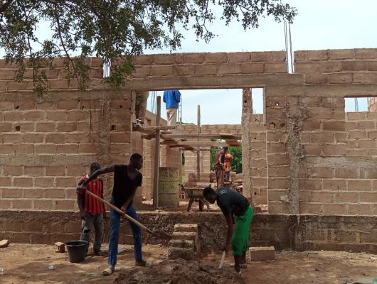 Action solidaire par Vision du Monde : France-Soutien aux projets au Mali