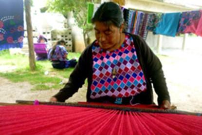 Action solidaire par Vision du Monde : Vision du Monde soutient la coopérative Bolom ton de Zinacantan (Mexique, Chiapas)