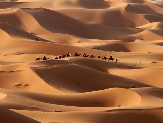 De terre et de sable, panorama du sud Marocain : voyage solidaire Vision du Monde